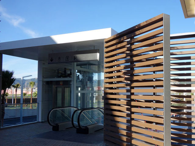 Grupo Gámiz project Geolam Style Outlet Viladecans