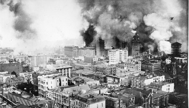 Incendio de San Francisco en 1906