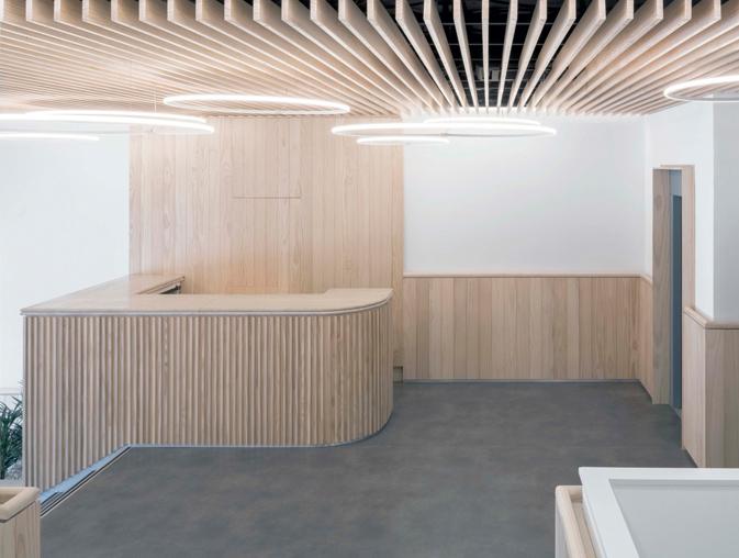 Nuevo Edificio Noreña, Madrid. Madera sostenible Accoya