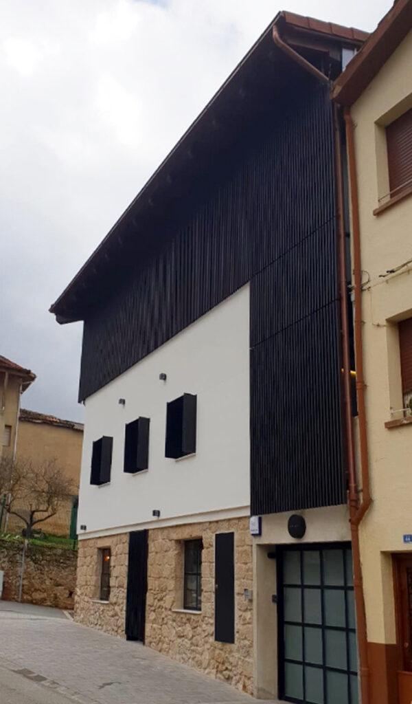 Restaurante Arrea, madera acetilada Accoya®