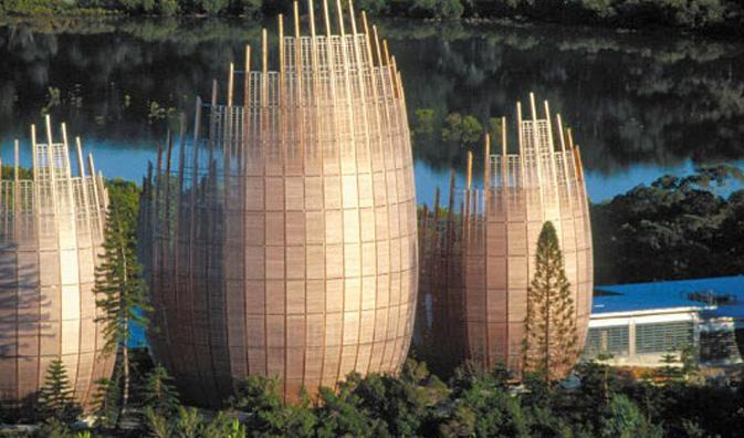 Centro Cultural Jean Marie Tjibaou. Renzo Piano