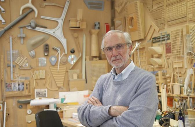 Renzo Piano, arquitecto italiano, ganador del Premio Pritzker.
