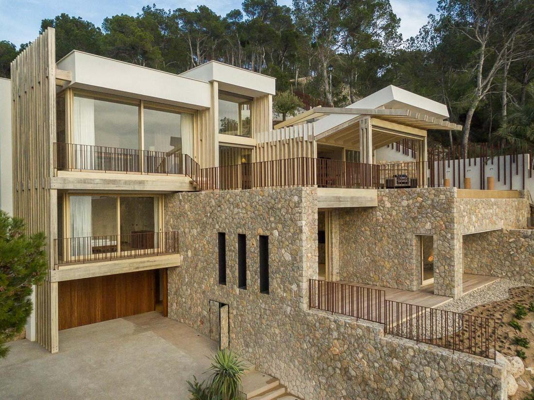 Grupo Gámiz, madera ACCOYA, proyecto Casa Prunera
