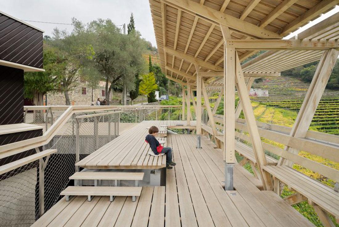 Grupo Gámiz, madera ACCOYA, proyecto Mirador Da Cova