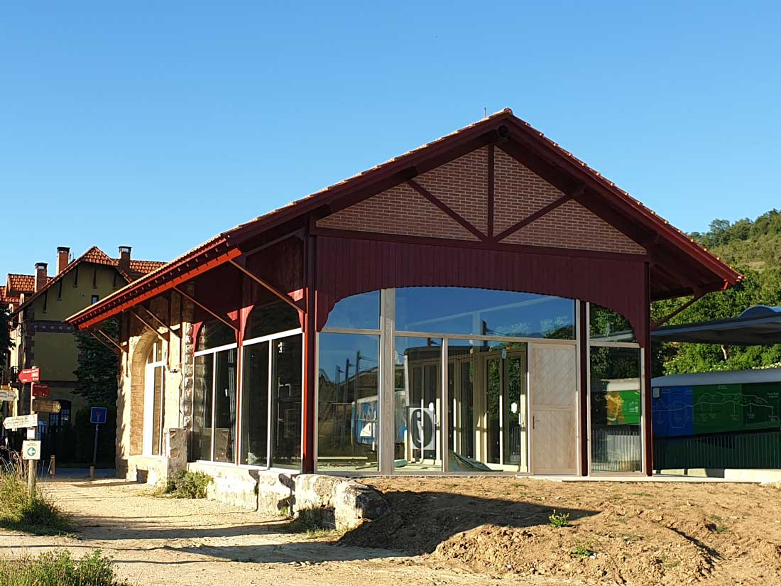 Proyectos ACCOYA, Vía verde del Ferrocarril Vasco-Navarro