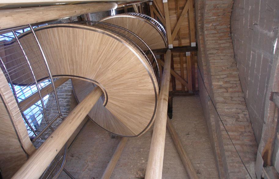 VIGAM - Viga Laminada de Roble - Catedral Santa María
